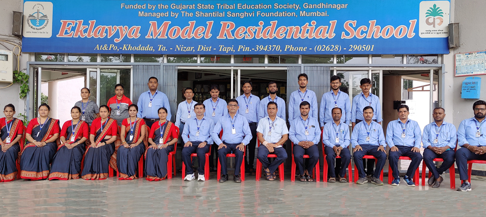 Welcome to Eklavya Model Residential School, Khodada